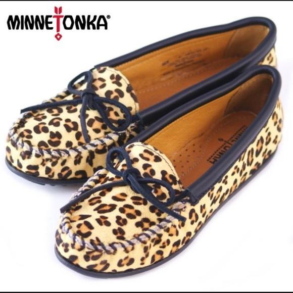 Leopard Moccasins Slipon | Poshmark
